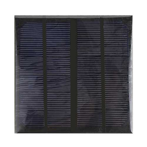 10pcs 3W 6V Epoxy Solar Panel Solar Cell Panel DIY Solar Charger Panel