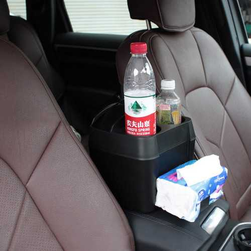 Multi-Function Car Use Arm Rest Box Storage Box Cup Seat Trash Can