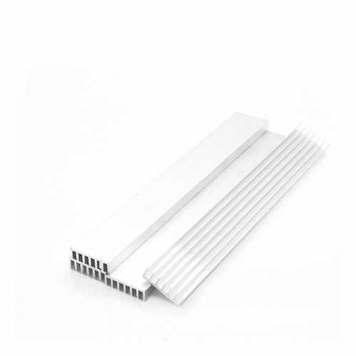1PC 150*20*6mm Aluminum Heat Sink for FPV Transmitter