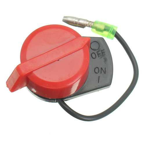 Engine Power Stop On Off Kill Switch For Honda GX110 GX270 GX240 GX340 GX390