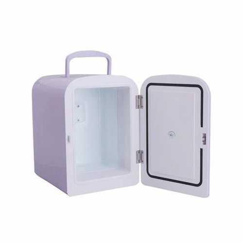 4L Car Mini Ice Box Home Refrigerator Mini Fridge 12V 220V Cool And Warm Contain