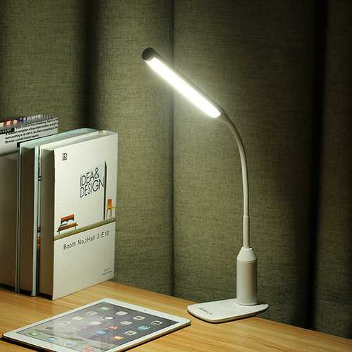 ARILUX® AL-TL02 Flexible Clamp 6W LED USB Touch Dimmable Reading Table Light Clip On for Desk Bed