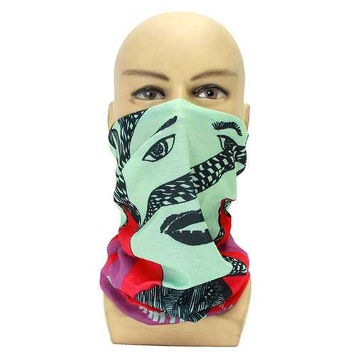 Breathable Face Mask Mouth Headbrand Hat Bracer Cuff For Motorcycle Fishing Riding Skiing Running