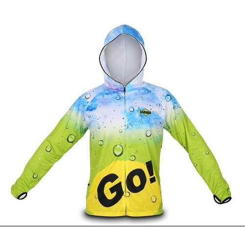 SEAKNIGHT SK003 Fishing Clothing Long Sleeve Breathable Anti-UV Sun Jacket