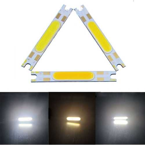 3W COB DIY LED Light Chip 50x7mm Strip Bar On Board DC9-12V