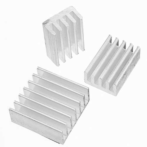10X Adhesive Aluminum Heat Sink Cooling Kit For Orange Pi PC / Lite / One