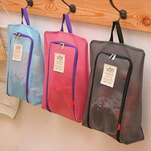 Honana HN-TB48 Portable Travel Shoes Storage Bag Large Luggage Clothing Organizer