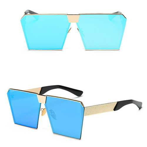 Women Fashion Square Shape Anti-UV Sunglasses Outdoor Casual Eyewear