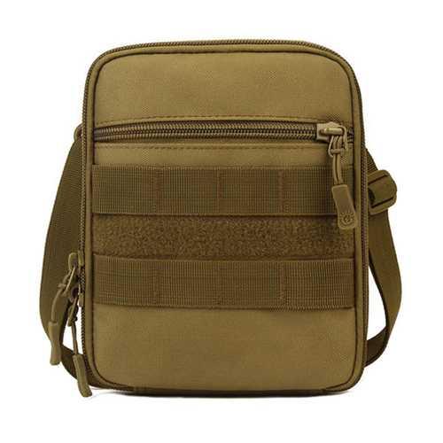 Men 6 Inches Cell Phone Nylon Outdoor Sport Waist bag Crossbody Bag