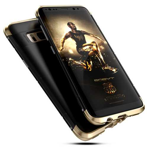 """3 In 1 Metal Bumper Frame+Silicone Shell Case For Samsung Galaxy S8 5.8"""""""