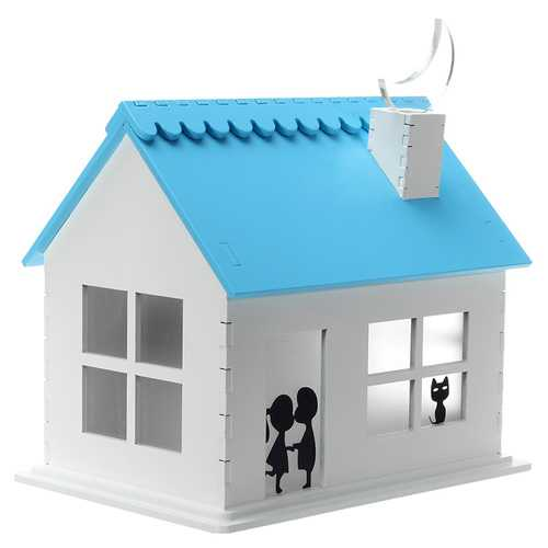 Solar Power Charging House Gift Toys