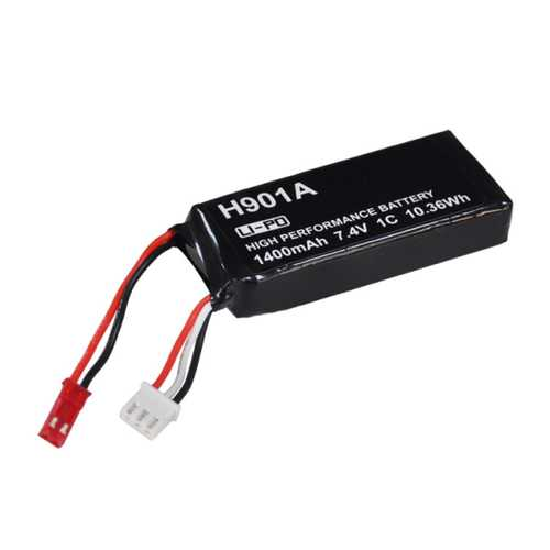 7.4V 1400mAh Lipo Battery For Hubsan H501S H502S H109S H901A Transmitter