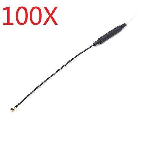 100X 3DBI Brass 2.4G Receiver Antenna Omnidirectional IPEX Port Compatible Futaba JR WFLY