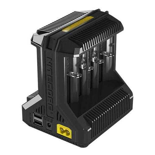 Nitecore i8 Multi-Slot 5V USB Intelligent Li-ion/IMR/Ni-MH Battery Charger For Almost all Battery Model