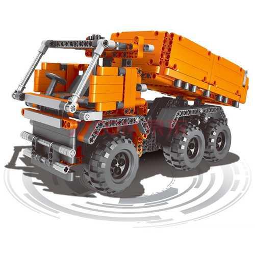 Funny Sliding Building Blocks Engineering vehicles Cars Model Toys For Kids Gift