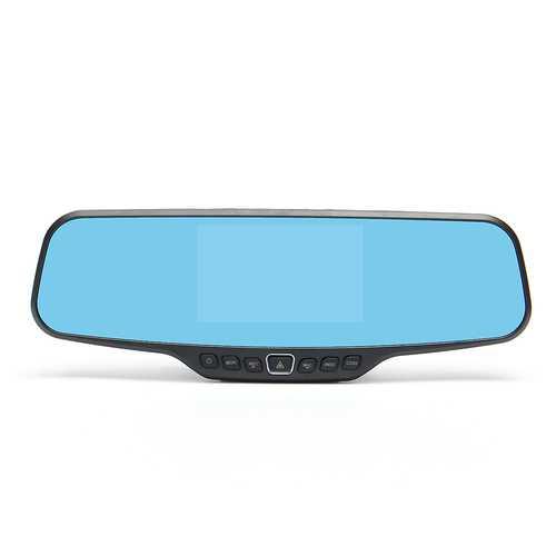 1080P Car Reverse Dual Lens Camera Car Dash Cam Rear View Mirror Video Recorder DVR