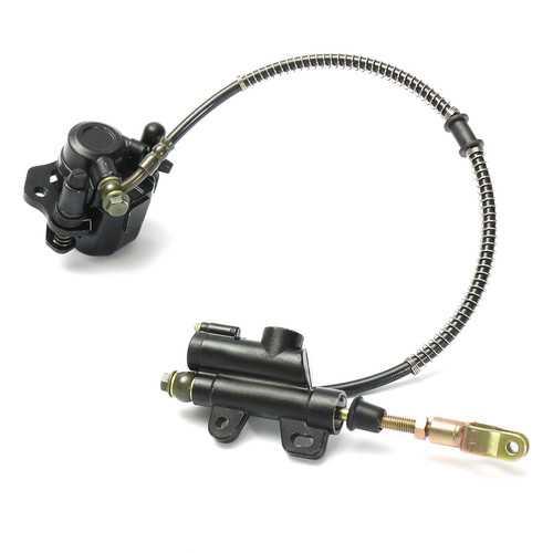Rear Hydraulic Brake Master Cylinder Caliper 50cc 70cc 90cc 110cc 125cc Chinese ATV Quad