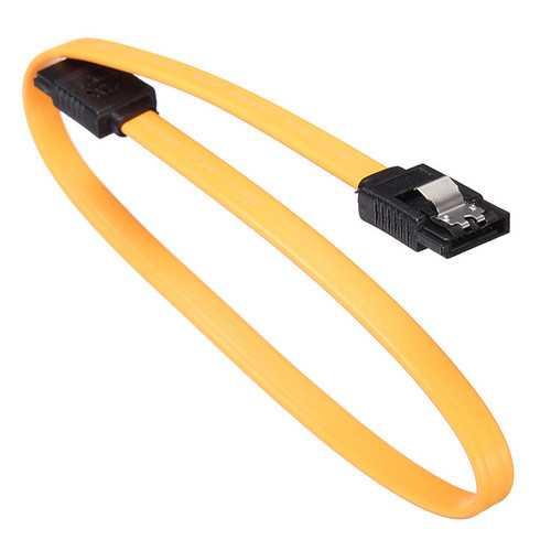 SATA 2.0 Cable with a Shrapnel Clip SATA Hard Drive Data Line