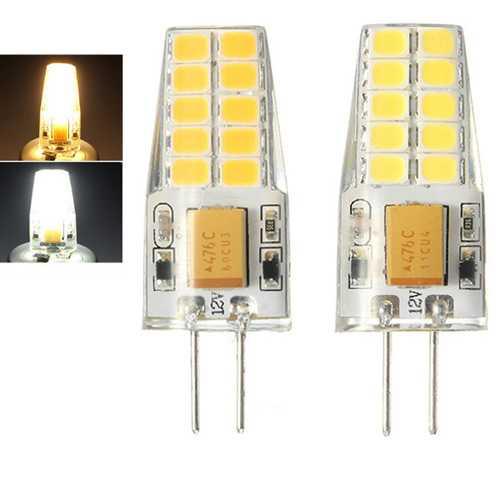 G4 2.5W SMD2835 20LEDs Warm White Pure White Light Bulb AC/DC12V
