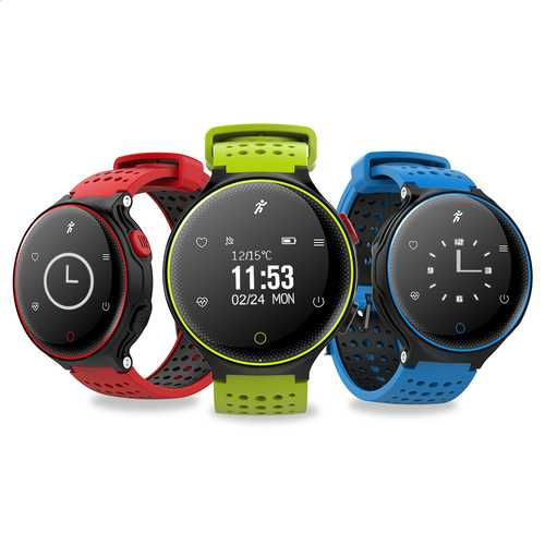 X2 0.96inch Heart Rate Monitor Pedometer WaterProof Smart Bracelet For iphone Samsung Xiaomi Redmi
