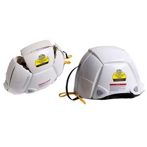 Foldable PP+PE+ABS Resin Helmet Disaster Prevention Emergency Helmet Protection Head