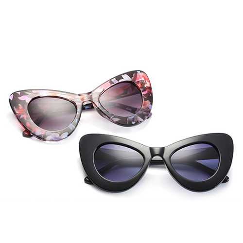 Fashion Women Classic Cateye Sunglasses Summer Outdoor UV400 Protection Eyeglasses