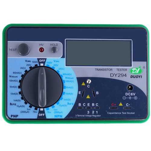 DY294 Digital Transistor Tester Semiconductor Tester DC Parameter Tester
