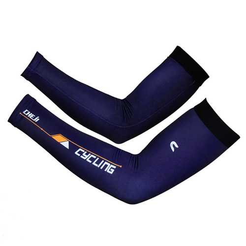 Men Summer Breathable Quick Drying Bike Cycling Cool Arm Sleeves Climbing Drive Anti-UV Cuffs