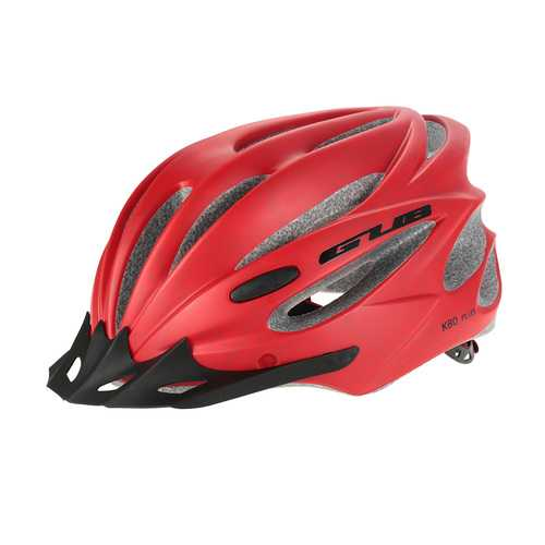 GUB K80 PLUS Integrally Molded Bicycle Helmet with Magnetic Goggles Lens and Visor