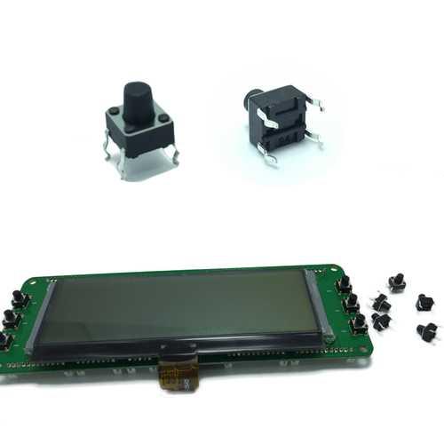 10Pcs FrSky Main Board Buttons For FrSky X9D/X9DP Transmitter
