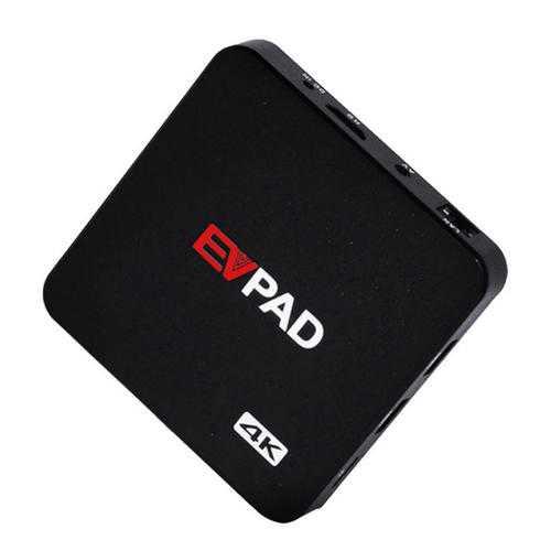 EVPAD 2S Allwinner H3 1GB RAM 8GB ROM TV Box 1000 HD TV Live Channels Asian Malaysia Korean Japanese Arabia