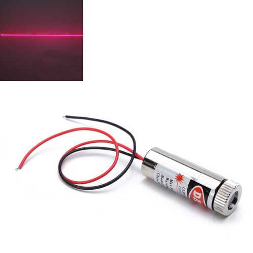 650nm 5mW Focusable Red Line Laser Module Generator Diode