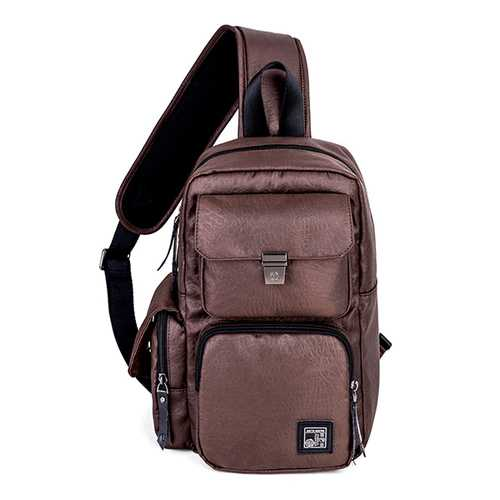 Men Oxford Outdoor Sport Bag Chest Pack Sling Bag Cross Body Bag