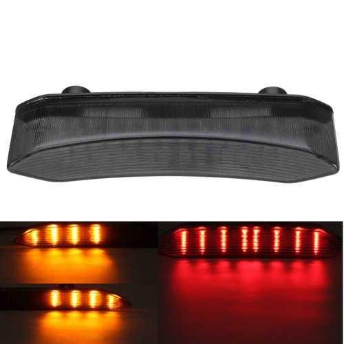 LED Turn Signal Tail Light Smoke Clear For Yamaha YZF R1 2002-2003