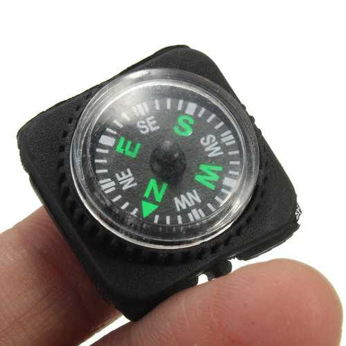IPRee™ Mini EDC Compass For Paracord Bracelet Outdoor Camping Emergency Survival Tool