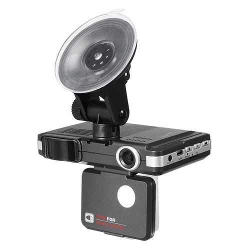 2 IN 1 720P HD Car DVR Camera Recorders + Trafic Radar Laser Speed Detector
