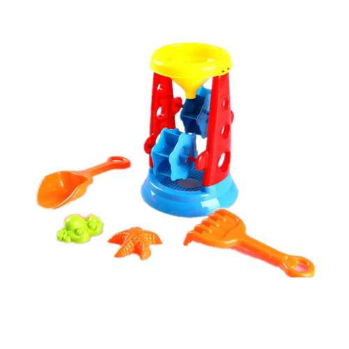 Summer Beach Funny Toys Kids Children Beach Sand Wheel Play Set