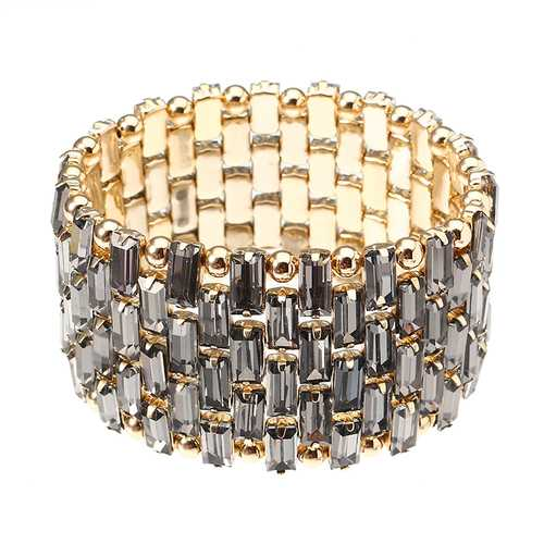 JASSY® Luxury Gold Plated Bead Bracelet Trendy Bracelet