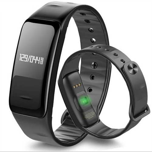 C1 Blood Pressure Oxygen Heart Rate Pedometer Smart Wrist Band Bracelet Watch for Samsung Xiaomi 6