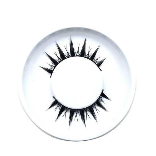 1 pair 3D Cross Black Mink Natural False Eyelashes