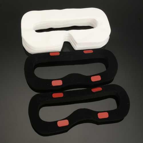 50 PCS Disposable Sanitary Facial Mask Eye Mask Two Foam for HTC VIVE VR Headset