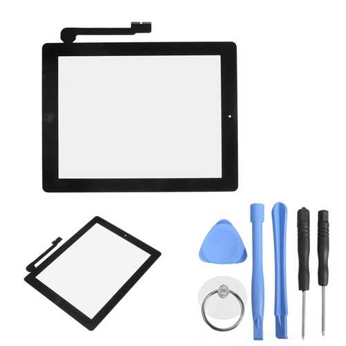 LCD Display Touch Screen With Home Button & Repair Tools For iPad 3