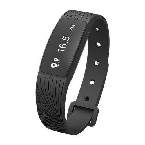 D08A 0.69 inch OLED Heart Rate Blood Pressure Monitor Pedometer bluetooth Smart Bracelet
