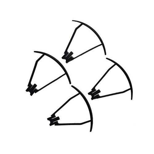 4Pcs VISUO XS809S XS809HW XS809W RC Quadcopter Spare Parts Blade Propeller Props Guard Protection Cover