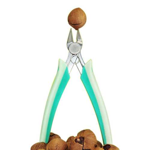 KCASA KC-NC035 Stainless Steel Seafood Walnut Nut Sheller Cracker Plier Clamp Scissor Nutcracker