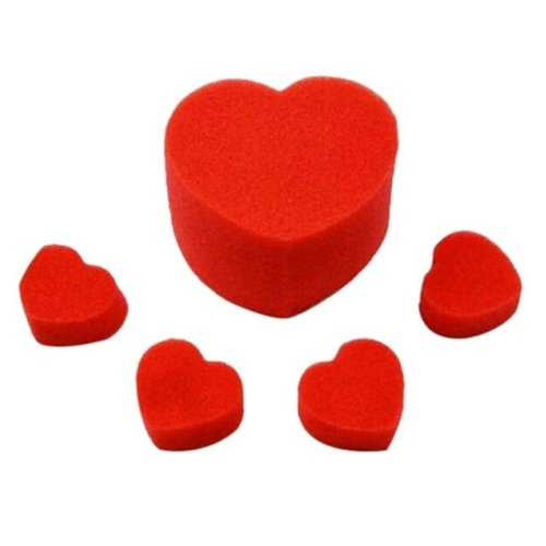 Close Up Street Magic Accessories Magic Tricks Sponge Heart Love Balls Toys Gifts