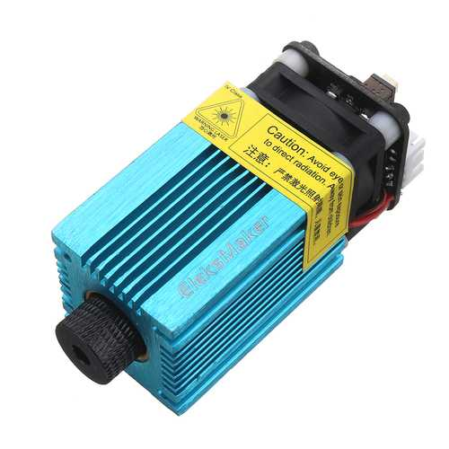 EleksMaker® EL01-2500 445nm 2500mW Blue Laser Module PWM Modulation 2.54-3P DIY Engraving Machine