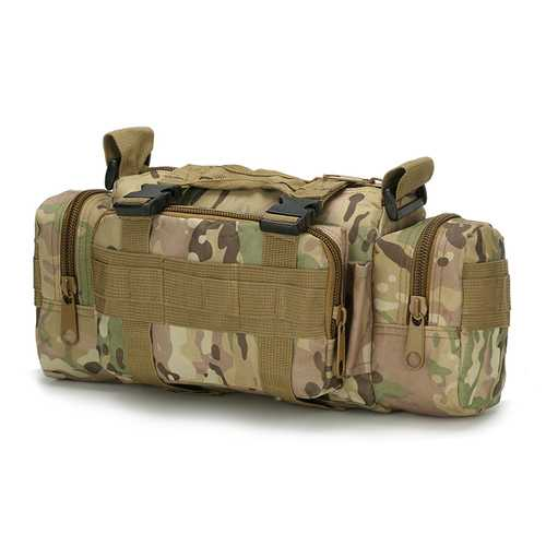 FAITH PRO Men Multi-function Tactical Bag 6L Waterproof Nylon Magic High Capacity Camera Backpack