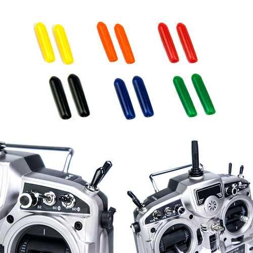 10Pcs Rubber Transmitter Anti-slipping Stick Switch Cap Sheath for Flysky Futaba JR Frsky Radiolink