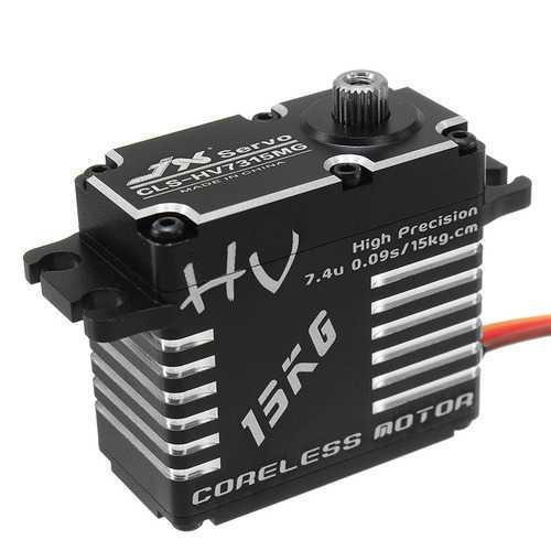 JX CLS-HV7315MG 15KG HV High Precision Steel Gear Digital Coreless Servo